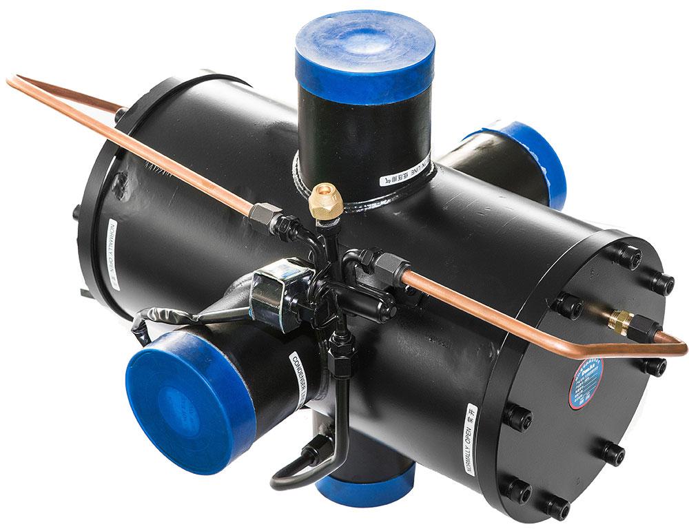 RefPower - Dunan tube-fin heat exchanger
