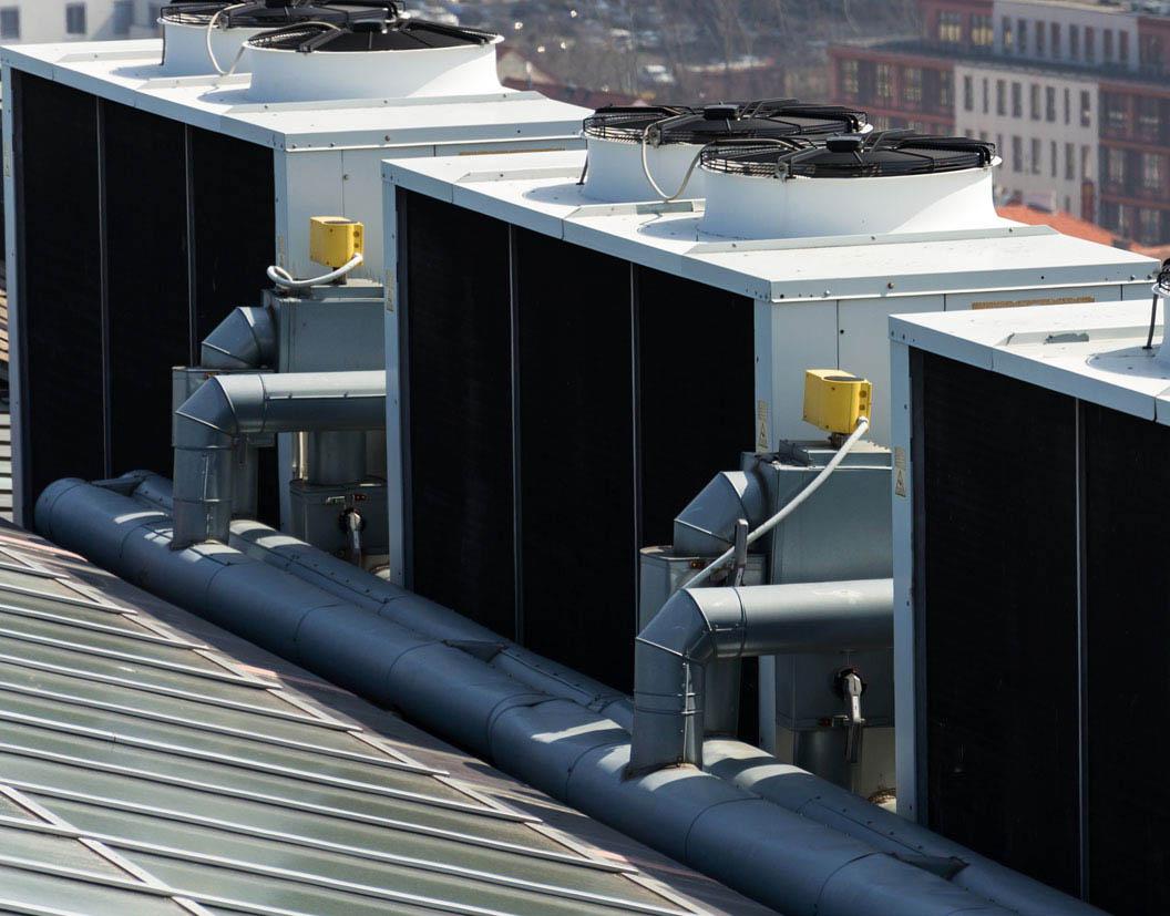 I compressori a vite RefPower sono nei chiller destinati alla produzione di acqua refrigerata